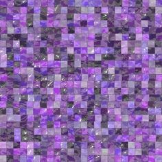 Purple Glass Tiles - I want these in my kitchen!
