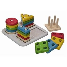 Plan toys - sorting puzzle 0-2 years