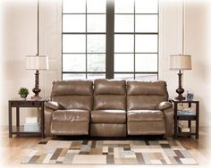 Windmaster DuraBlend - Taupe Reclining Power Sofa