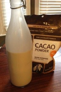 Homemade Hazelnut Milk - The Coconut Frontier