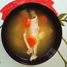 Supă de curcan cu tăiței