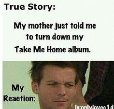 """Take Me Home """"too loud"""""""