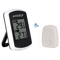 2016 Digital LCD Wireless Thermometer Electronic Temperature Meter Weather Station Indoor Outdoor Tester