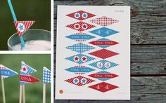 Red White And FREE! 100% Off! | Pick Your Plum - free printable for the Fourth of July!