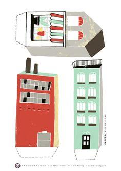 free download DIY dutch illustrator Kim Welling 1/2