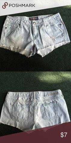 Denim Shorts Size 9/10 . Never Worn. Ecko Unlimited Shorts Jean Shorts