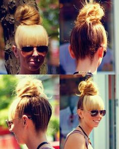Luvsalon.me Captures Some Seriously Chic 'Dos on the Street #hairstyles trendhunter.com