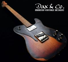 Custom Guitars and Relics by Dax&Co.: Quality custom guitars and relics at affordable prices unmatched in the industry! Telecaster Guitar, Fender Guitars, Jazz Cd, Guitar Parts, Smooth Jazz, Custom Guitars, Guitar Design, New Artists, Vintage Designs