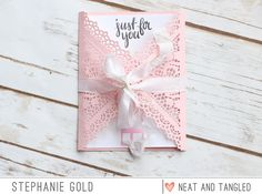Neat and Tangled: February Release Day 4: Doily Envelope Die