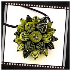 Pendant by Daniela (dr. fimo), polymer clay.