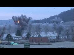 Watch A 1,600 Foot Bridge Get Blown To Pieces.    Aaaaand boom goes the dynamite. After 84 years of service, the historic Fort Steuben Bridge—which connected Ohio and West Virginia along the Ohio River—was demolished on Tuesday with the aid of more than 150 pounds of explosives. Hate to see you go, old friend, but love to watch you get blown away.