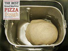 The Best Bread Machine Pizza Dough - 2
