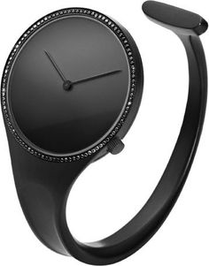 Georg Jensen Watch Vivianna Bangle Black Dial Diamond Bezel Small #add-content #basel-18 #bezel-diamond #bracelet-strap-steel #brand-georg-jensen #case-depth-7-1mm #case-material-black-pvd #case-width-34mm #cws-upload #delivery-timescale-call-us #dial-colour-black #discount-code-allow #gender-ladies #luxury #movement-quartz-battery #new-product-yes #official-stockist-for-georg-jensen-watches #packaging-georg-jensen-watch-packaging #style-dress #subcat-vivianna #supplier-model-no-3575722