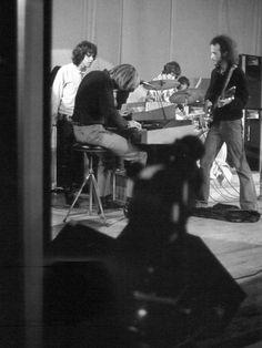 The Doors. John Densmore, Robby Krieger, Raymond Manzarek (1939.2013), and James…
