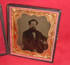 Handsome Gentleman Ambrotype Photo in period case by ifoundthat, $80.00