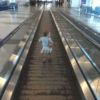 How To Wear Out Your Toddler In An Airport