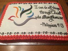 Resultado de imagen para catholic confirmation cake