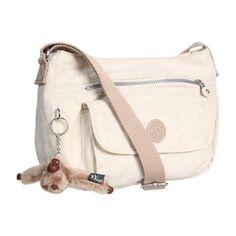 Kipling U.S.A. Syro Shoulder/Crossbody Bag Cross Body Handbags - Pearl White