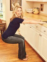 Sink 'n' Squatwomansday #fitnessexercises Denise Austin, Fitness Diet, Fitness Motivation, Health Fitness, Fitness Pal, Dance Fitness, Exercise Motivation, Yoga Fitness, Easy Workouts