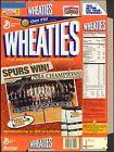 For Sale - 2003 San Antonio Spurs wheaties cereal box factory flat (B9) - http://sprtz.us/CelticsEBay