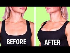 7 simple exercises for a beautiful and attractive breast - lll➤ Breast muscle training in women: What does training really do for women? Fitness Workouts, Lifting Workouts, Easy Workouts, How To Get Bigger, Muscle Training, Body Fitness, Upper Body, Breast, Sports
