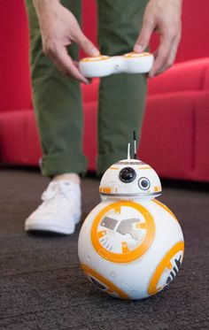 Hasbro's remote control BB-8 droid from Star Wars #technology #gadgets