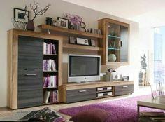 Tv Unit Furniture, Home Furniture, Furniture Design, Lcd Unit Design, Tv Wall Design, Living Roon, Living Room Decor, Entertainment Center Furniture, Muebles Living