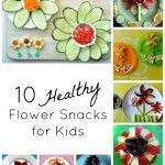 These snacks look almost too good to eat! Check out these 10 Healthy Flower Snacks for Kids from Fantastic Fun and Learning.