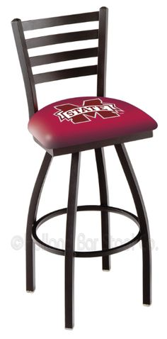 Mississippi State Bulldogs L014BW Bar Stool
