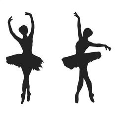 Ballet Tattoonie Temporary Tattoos - 2 Ballerina's - #tattoonie #temporarytattoo #t4aw