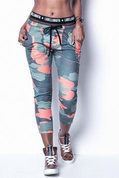 Produto - Calca Sweat Space Army Labellamafia Mcl10439 - Fit You - Fashion f6dde8bdedfa7