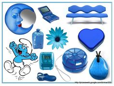 Colores - Azul