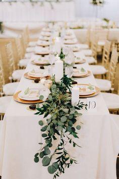 greenery on table