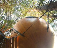 Eryn | Free Spirit Spheres - Suspended Spherical Treehouses
