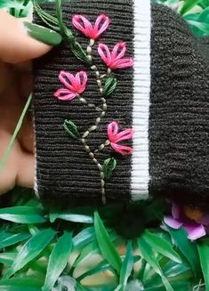 Best Embroidery Ideas,Best Embroidery Ideas What's embroidery ? In general, embroidery is really a special manner of textile handling, where company products such as cloth . Basic Embroidery Stitches, Hand Embroidery Videos, Embroidery Stitches Tutorial, Embroidery Flowers Pattern, Creative Embroidery, Simple Embroidery, Hand Embroidery Designs, Embroidery Techniques, Embroidery Ideas