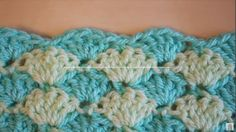 Learn how to crochet shell stitch pattern for a blanket, scarf hat etc. by following this simple, quick and step by step tutorial with a free video.