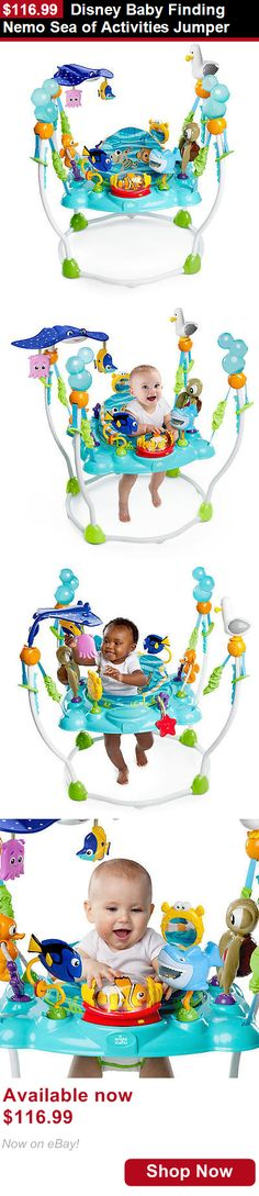 Baby jumping exercisers: Disney Baby Finding Nemo Sea Of Activities Jumper BUY IT NOW ONLY: $116.99