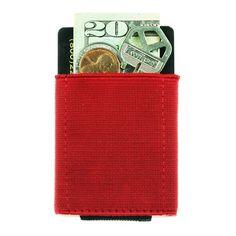 Red Front Pocket Wallet - BASICS Wallets   NOMATIC