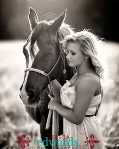 This photo is so cute!!! I love horses so much and this photo!
