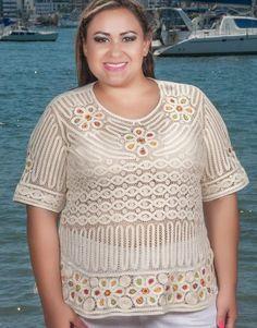 17 Amanda, Crochet Top, Plus Size, Lady, Floral, Dresses, Women, Fashion, Romanian Lace