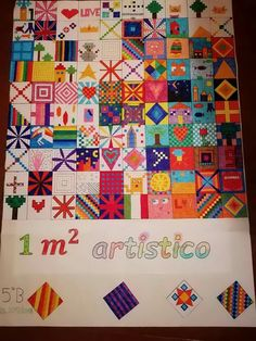 Back To School, Collage, Quilts, Cool Stuff, Maths, Drawings, 3, Kids, Crafts
