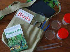 Young naturalist's bag.