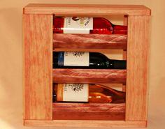 Wine Rack ( 3-bottle )