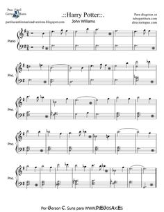 sheet music for harry potter theme - Google Search