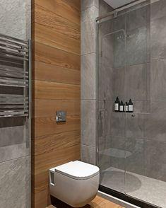 Bathroom Design Luxury, Modern Bathroom Design, Modern House Design, Bathroom Design Inspiration, Design Ideas, Toilet Design, Home Interior, Small Bathroom, Decoration