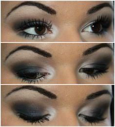 Makeup By Kailan Marie: Navy Smokey Eye Tutorial ft. MAC Contrast Eyeshadow