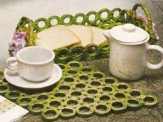Descansos de panela e cestas feitos com jornal - Artesanato fácil com reciclagem…