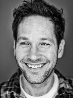 A funny man is the best man. Paul Rudd