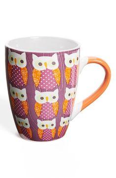PJ Salvage 'Owls' Ceramic Mug available at #Nordstrom