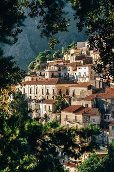 """Italy Photography, """"A Charming Hill Town in Calabria"""" Italian Town Print, Fine Art Photography, Home Decor, Travel Wall Art Travel Photography Tumblr, Photography Beach, Fine Art Photography, Photography Hashtags, Photography Magazine, Photography Backdrops, Digital Photography, Photography Tips, Bulb Photography"""